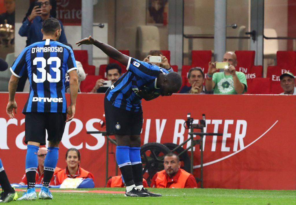 Romelu Lukaku, già vittima di cori razzisti in Italia (foto pagina Facebook Inter).